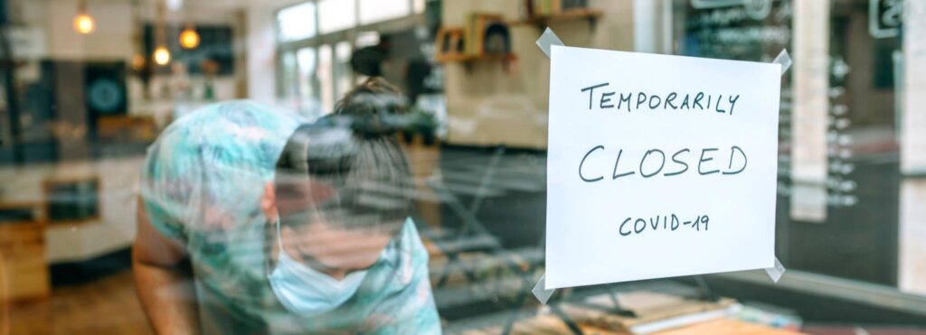 chiusura locali di ristorazione